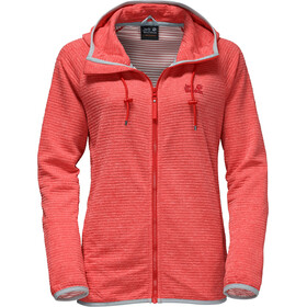Jack Wolfskin Tongari Hooded Jacket Women fiery red